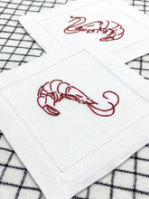 Load image into Gallery viewer, Shrimp Cocktail Embroidery Kit