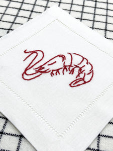 Shrimp Cocktail Embroidery Kit