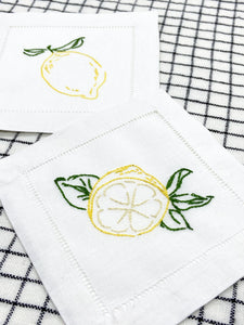 Embroidery kit Lemons