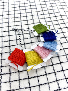 DMC 100% cotton colorfast embroidery floss