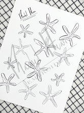 Load image into Gallery viewer, Starfish Embroidery Digital Download