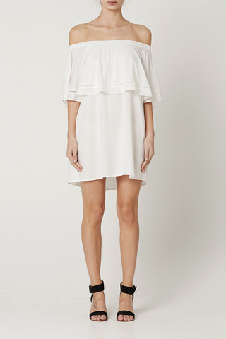 VALERIE DRESS White