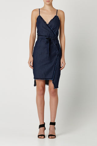 YOUNG LOVE Dress Indigo Denim