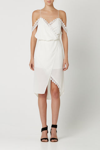 THE ONE Dress White