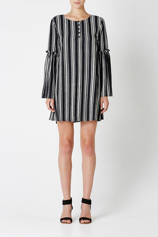 ONE FINE DAY Dress Stripe