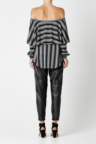 MILLY Top Stripe