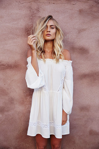 BETTY Dress Off White