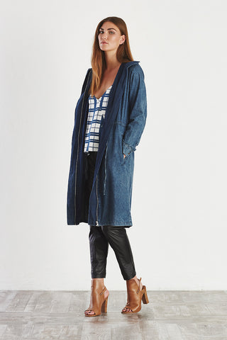 SORTED Anorak Dark Blue Denim