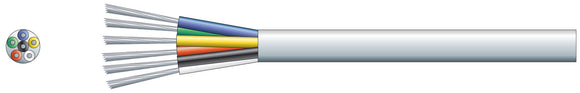 6 Core Alarm Cable (per 100 metre)