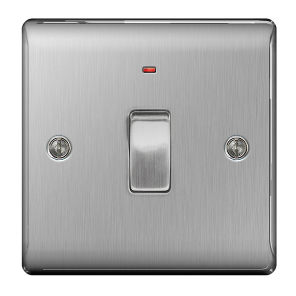 NBS31 20A Double Pole Switch with Neon