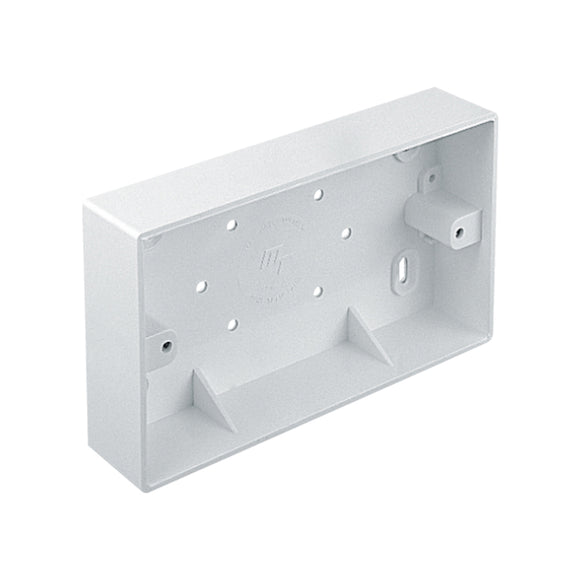 2 Gang Surface PVC Box