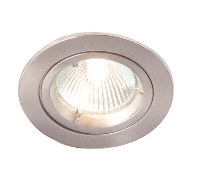 R201SC-13 GU10 Downlight Brushed Chrome