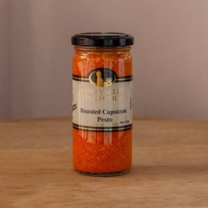King Valley Fine Foods Roasted Capsicum Pesto 240gm
