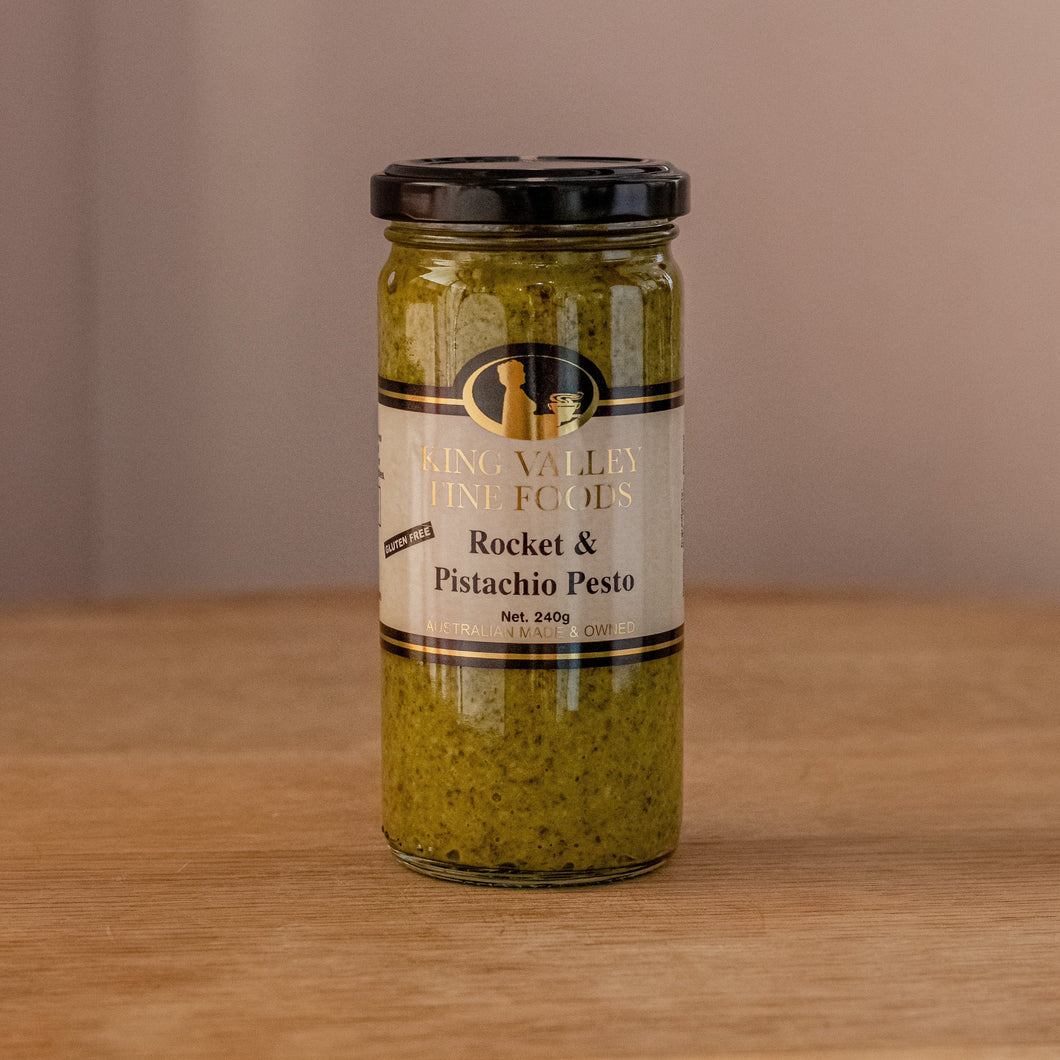 King Valley Fine Foods Rocket & Pistachio Pesto 240gm