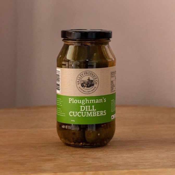 Valley Produce Co Ploughman's Dill Cucumbers 510gm