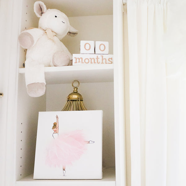 Ballerina Room Decor Nursery Decor | Shenasi Concept