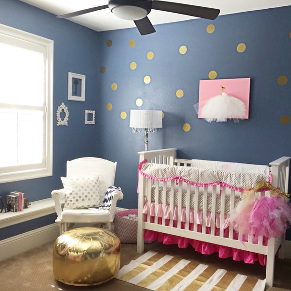 Nursery Decor - Baby Girls Room Design | Shenasi Concept