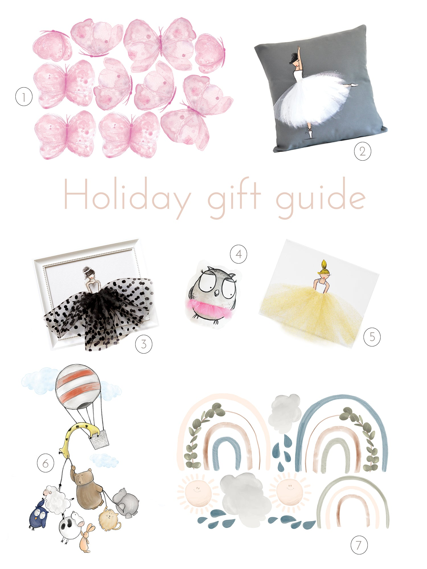 holiday gift guide- nursery kids room