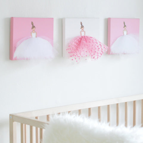 Camellia Wall Art Set