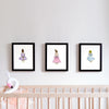 girls room decor set - girl in dress - shenasi concept