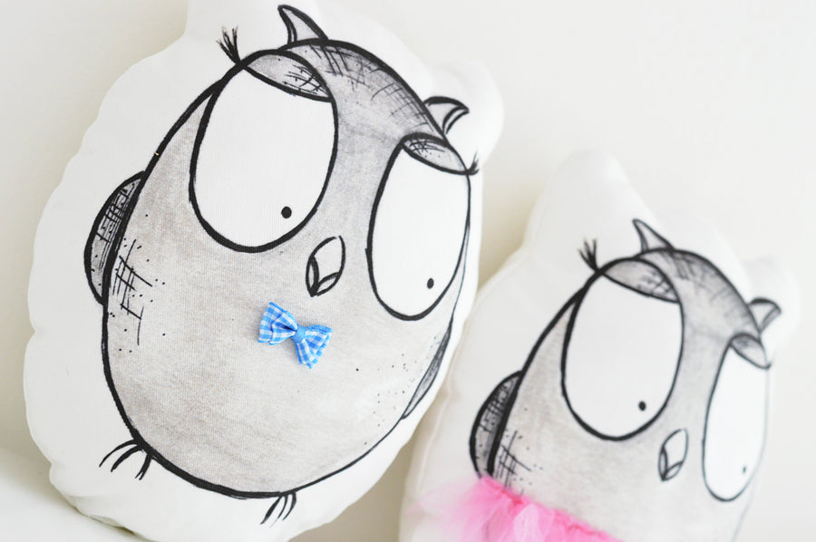 baby small pillow| Jojo & Jack Owls | Shenasi Concept