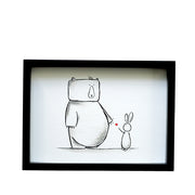 Nursery Unisex Art for Kids - Simon & Lily Print | Shenasi Concept