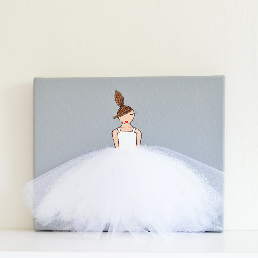 Lila Wall Art - Plain Tutu
