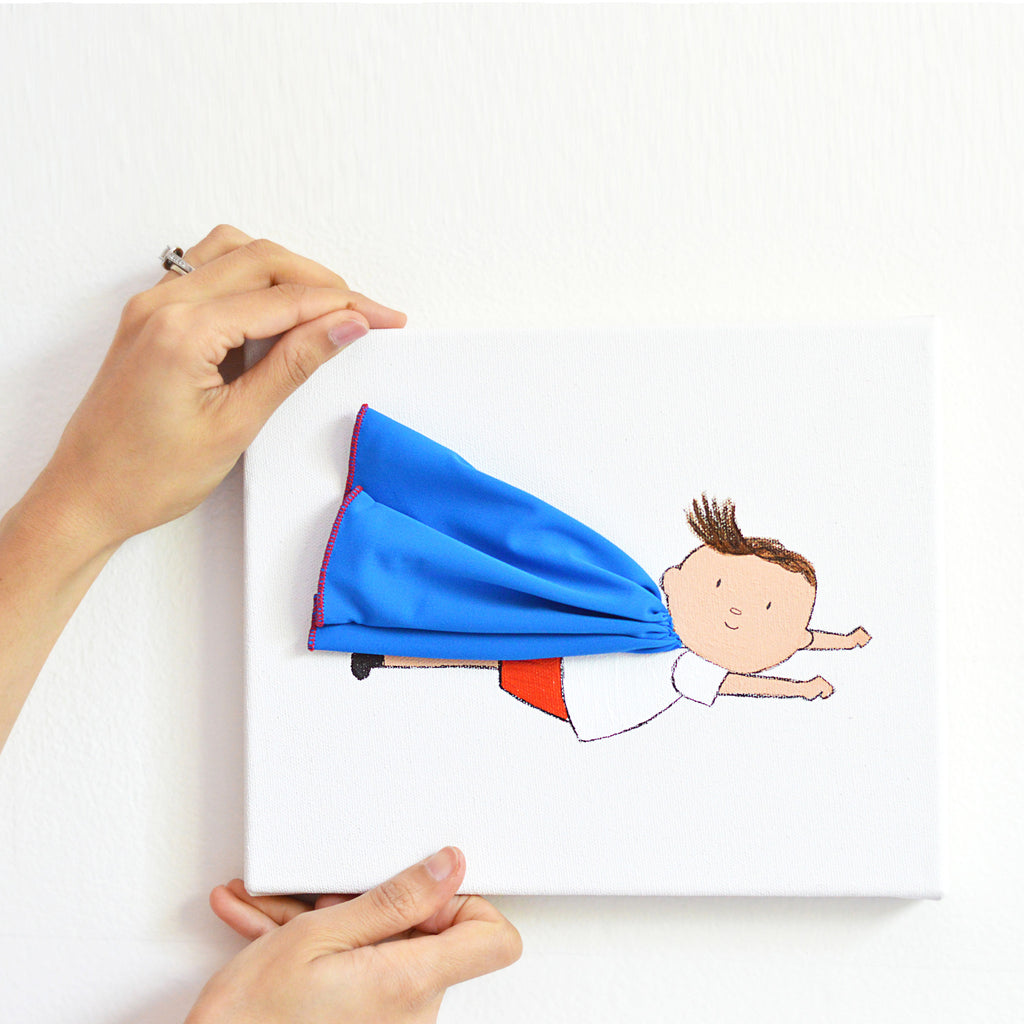 Boys Wall Decor - Milo the Superhero | Shenasi Concept