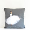 Nursery Décor - Grey Ballerina Cushion Cover | Shenasi Concept