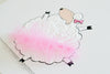 Girl's Nursery Decor - Tammy sheep with tutu | Shenasi Concept