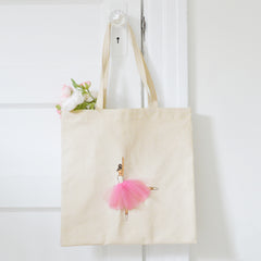 canvas tote for dancers, gift for dancers| Shenasi Concept
