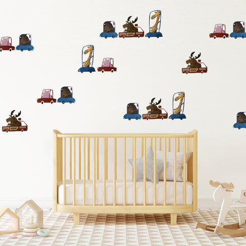 Traffic Jam - Wall Decal - by LS