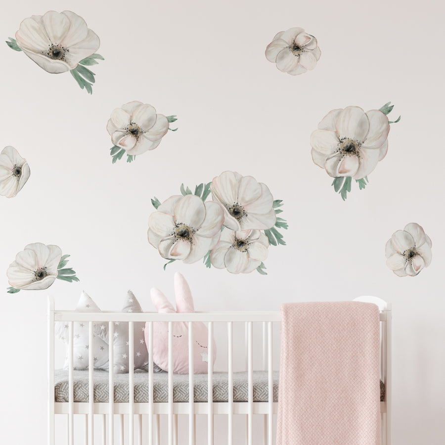 Dreamy Anemones - Wall Decal