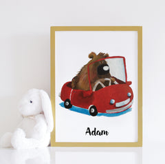 Bobo the Bear (Print)- By LS