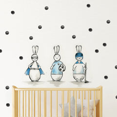 rabbit bunny nursery wall sticker | Shenasi Concept