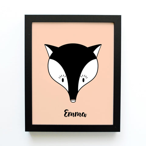 Mia the Fox - Jungle Animal (Print)