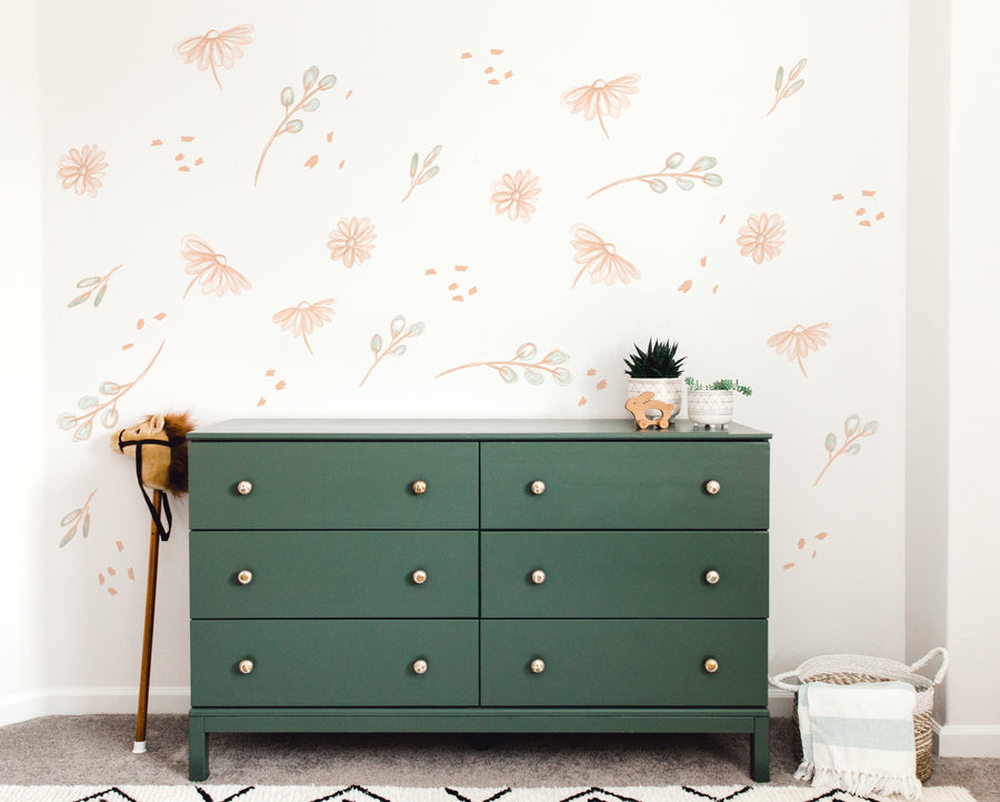 Meadow Florals  - Wall Decal