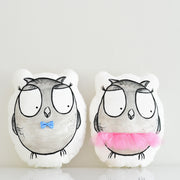 Nursery Owl plush animal | Jojo & Jack the Owls| shenasi concept