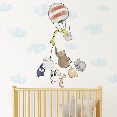Party in the Sky - Wall Decal