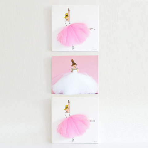 Daisy Wall Art Set