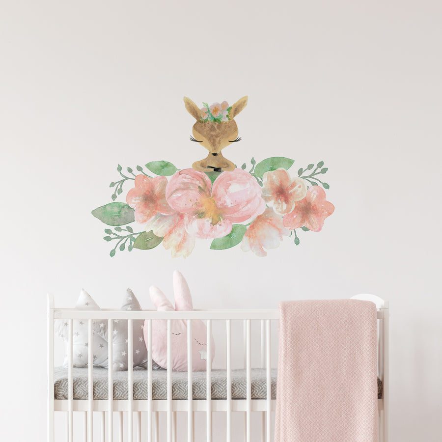 fawn wall decal woodland animal | Peppy Lu