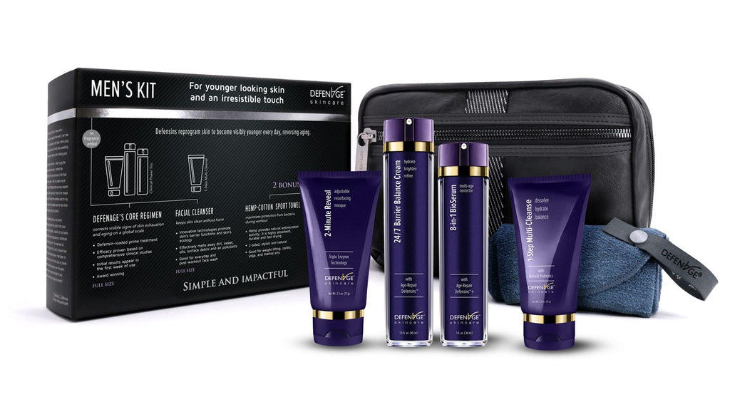 DefenAge - Luxury Men's Skincare Kit