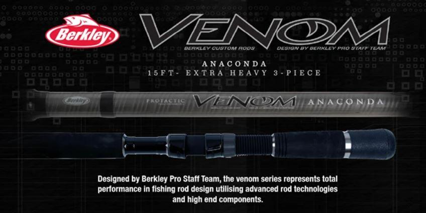 Berkley Venom TAIPAN 11' Rod - Stil Fishingrods
