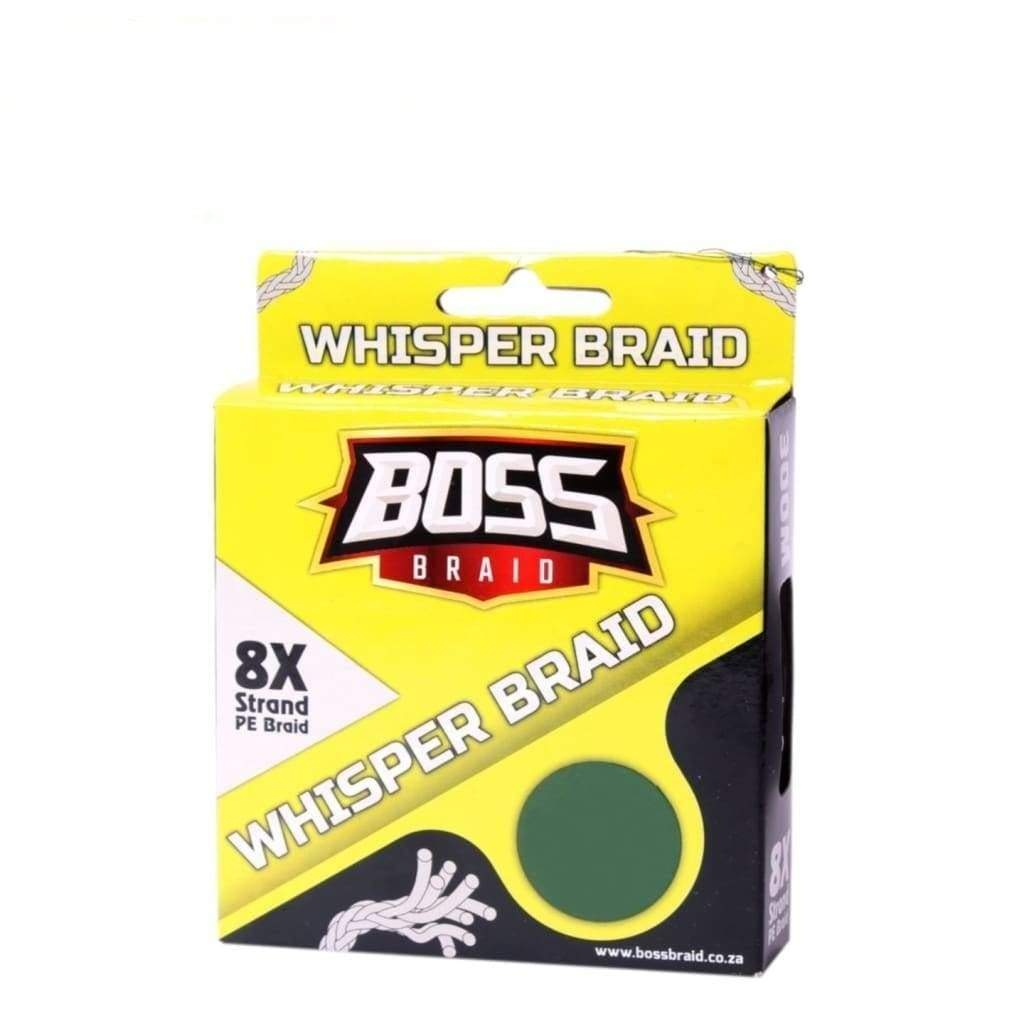 BOSS BRAID 8X WHISPER - Stil Fishingbraid