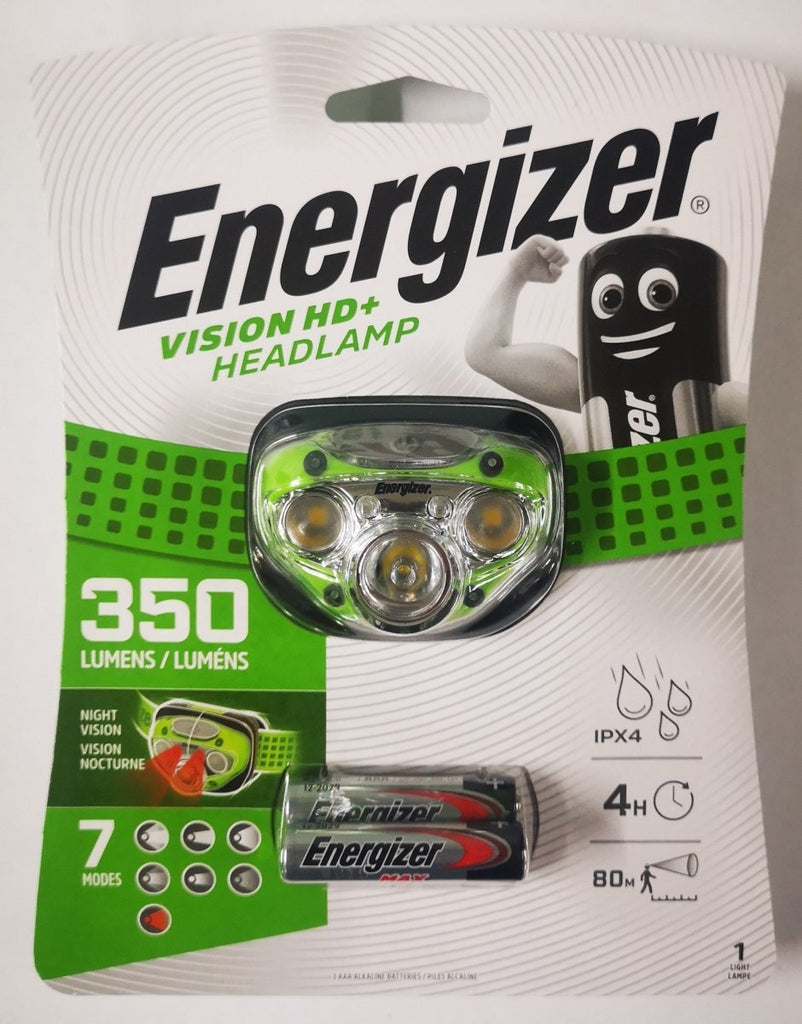 Energizer Vision HD+ 350 Lumen Headlamp - Stil Fishingheadlight