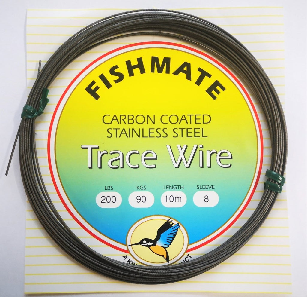 Fishmate Carbon Coated Trace Wire - Stil Fishingleader