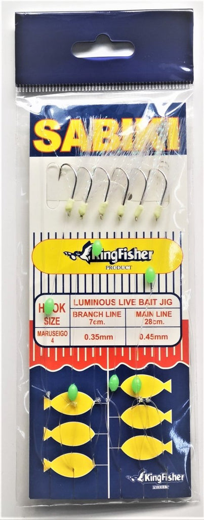 Kingfisher Sabiki Rig - Stil Fishingsabiki