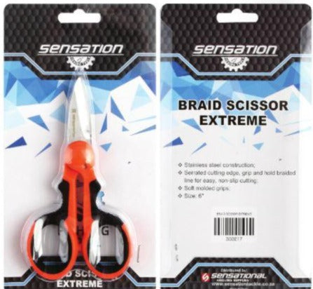Sensation - Braid Scissors EXTREME - Stil Fishingsciccors