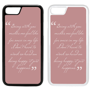 3 Quotes: Sayings Quotes custodia Cover for