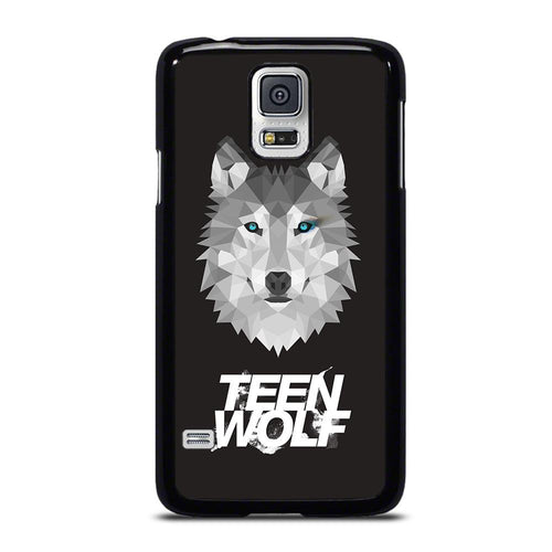 coque custodia cover fundas hoesjes j3 J5 J6 s20 s10 s9 s8 s7 s6 s5 plus edge D18616 COOL LOGO TEEN WOLF BEST Samsung Galaxy S5 Case